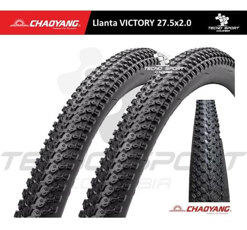 Llanta Bicicleta Chaoyang Rin 27.5 Coraza Mtb X 2 Unidades