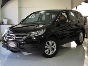 Honda Cr-v 2.0 Lx 4x2 Automatico 2012 Preta Completo