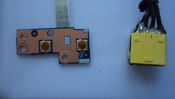 Placa Power/ Liga/desl. - Lenovo G400s