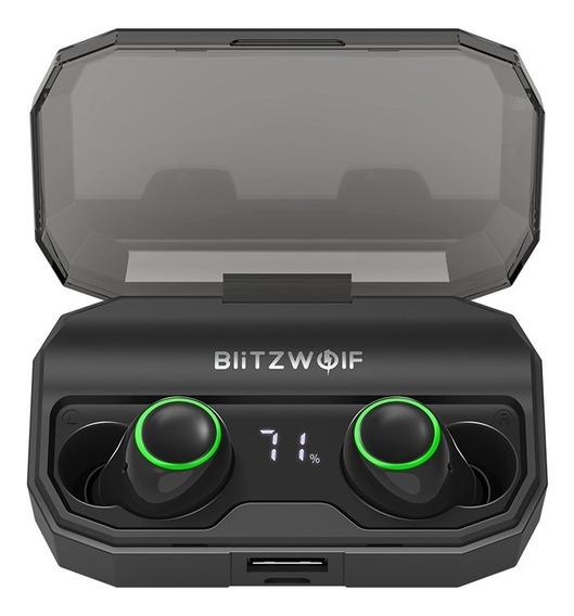 Fone Bluetooth 5 Blitzwolf Bw Fye3s Sem Fio Power Bank Ipx6
