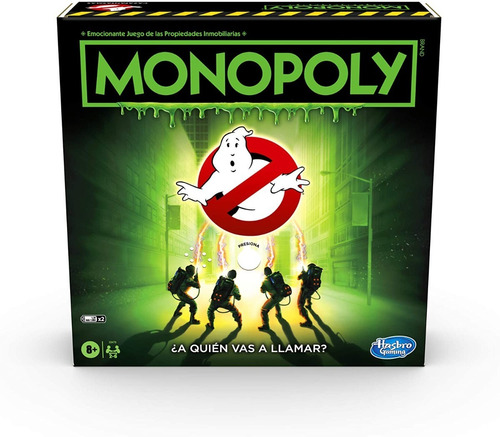 Imagen 1 de 7 de Juego De Mesa Monopoly Cazafantasmas Ghostbusters 6 Tokens