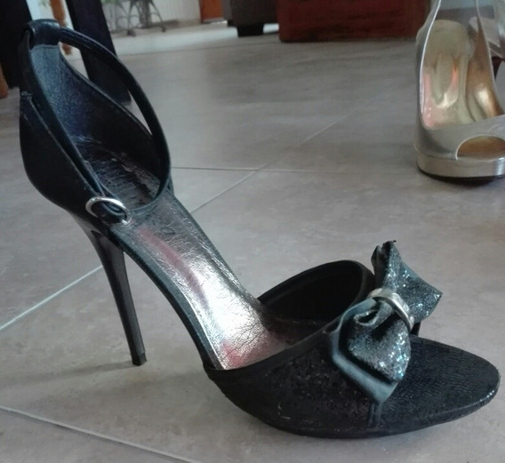 Sandalias Stiletto N°37 Impecables