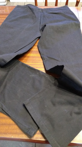 Pantalon En Loneta Negra Nmd T44/46