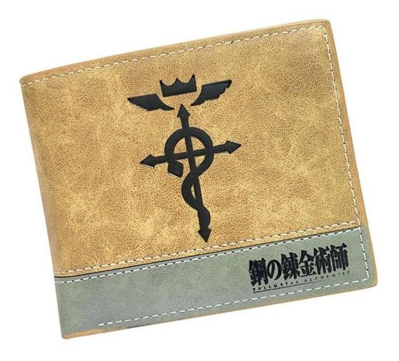 Cartera Billetera Fullmetal Alchemist Logo Edward Elric