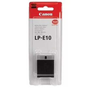Bateria Canon Kiss X50 X70 Rebel T3 T5 T6 1100d 1200d Lp-e10