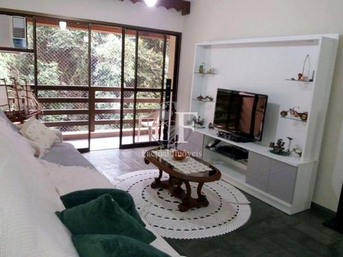 Apartamento Com 3 Dormitórios À Venda, 220 M² - Pitangueiras - Guarujá/sp - Ap7584