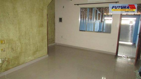 Casa Com 3 Dormitórios À Venda Por R$ 290.000,00 - Esplanada Dos Barreiros - São Vicente/sp - Ca0395