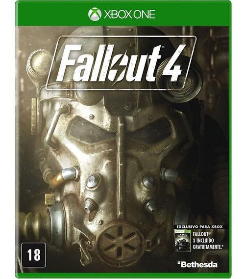 Jogo Fallout 4 Xbox One Mídia Física   Vitrine