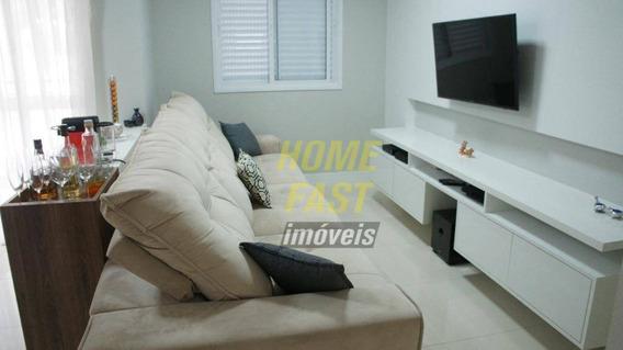 Apartamento Com 3 Dormitórios À Venda, 82 M² Por R$ 540.000 - Gopoúva - Guarulhos/sp - Ap1398