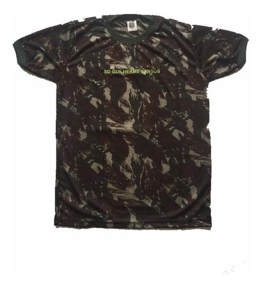 Camisa Camuflada Eb No Tecido Dryfit