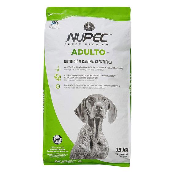 Croqueta Alimento Para Perro Super Premium Adulto Nupec 15kg