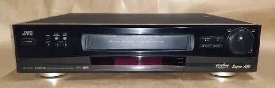 Video Cassete Jvc Hr-s7100u Profissional Raro Com Controle