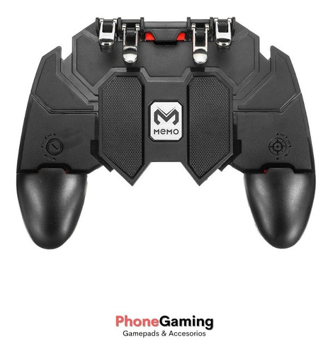 Control Gamepad 4 Gatillos Ak-66 Para Celulares Cod Pubg Ff