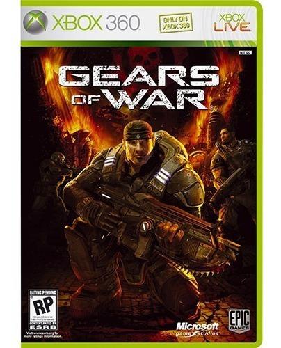 Jogo Xbox 360 Gears Of War Original Usado Mídia Física