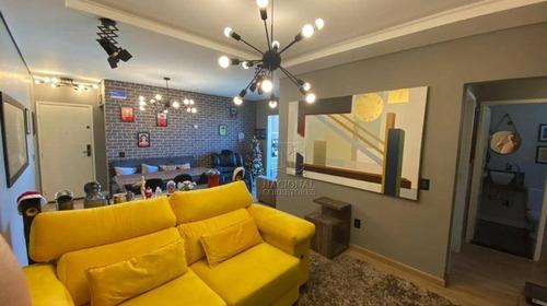 Imagem 1 de 30 de Apartamento Com 3 Dormitórios À Venda, 83 M² Por R$ 535.000,00 - Vila Bocaina - Mauá/sp - Ap11853