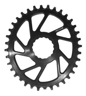 Mono Plato Mtb Ovalado Direct Mount P/ Race Face 36t Offseet 3mm- Ciclos