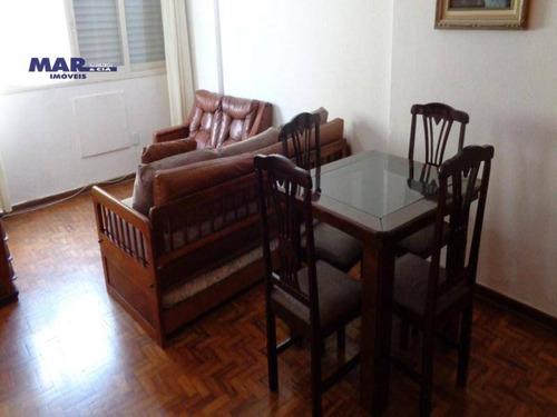 Imagem 1 de 10 de Apartamento Residencial À Venda, Centro, Guarujá - . - Ap10406