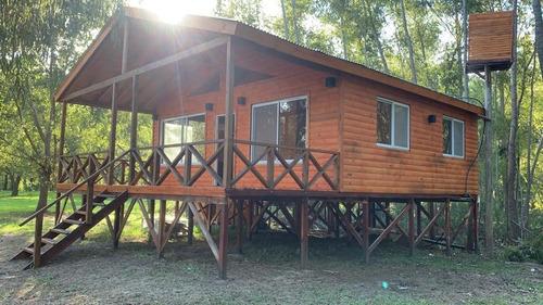 Cabaña 3 Ambientes En Palmares Del Delta