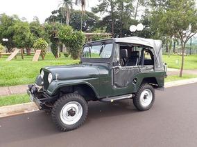 Jeep Willys 1962 Cj5 4x4 Motor E Cambio Originais