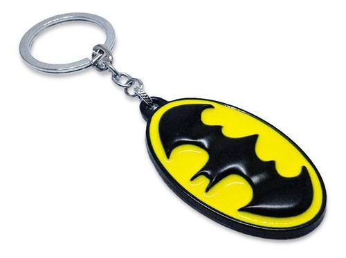 Llavero Metálico Logo Batman Clásico Dc Cómics