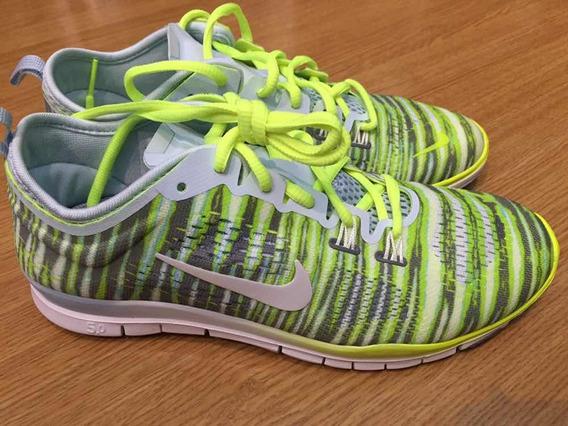 Promoção Tênis Nike Feminino Print Fit 4 Zebra Free 5.0 36