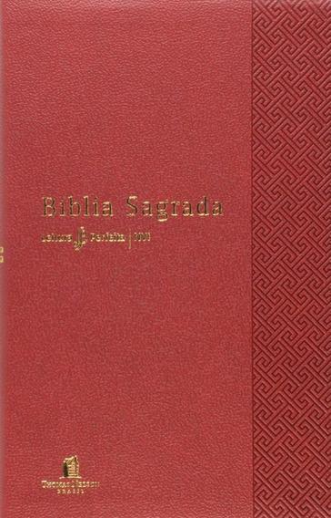 Bíblia Nvi Leitura Perfeita - Capa Vermelha, Letra Normal,