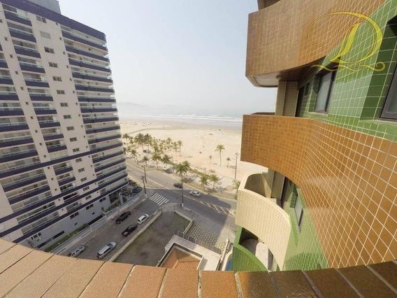 Apartamento De 3 Quartos Frente Ao Mar Para Locação Definitiva Em Praia Grande!!! - Ap0621