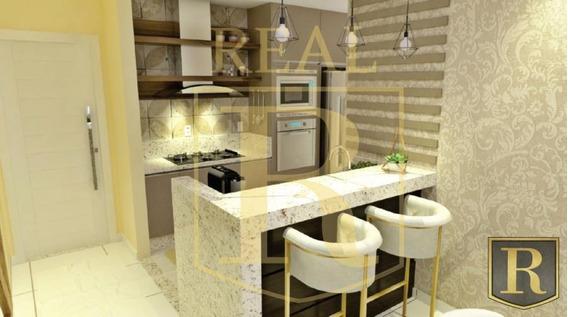Apartamento Para Venda Em Guarapuava, Santa Cruz, 2 Dormitórios, 1 Suíte, 1 Banheiro, 2 Vagas - _2-988225