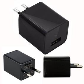 Carregador Espião Usb Wifi + Cartao De Memoria 32gb