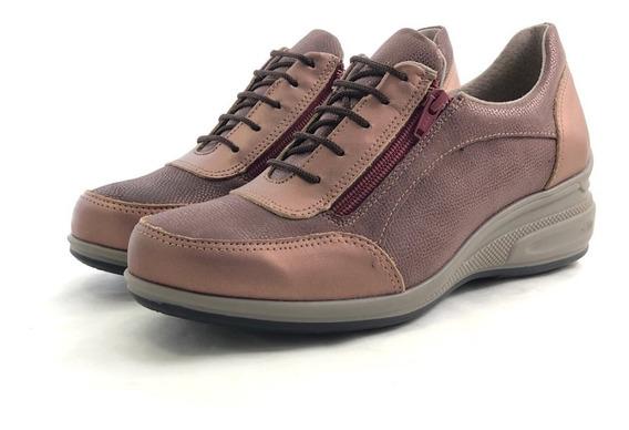 Penelope 2962 Zapatilla Cordón Cierres El Mercado De Zapatos