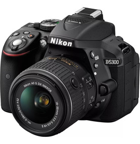 Camara Digital Nikon D5300 18-55mm Vr Cuotas Sin Interes!!!!