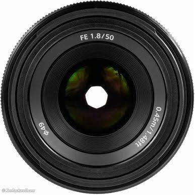 Lente 50mm Fe 1.8 Sony