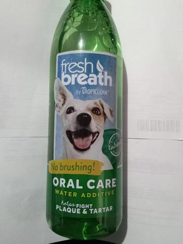 Oral Care Aditivo Para El Agua Fresh Breath Perro 16oz 473ml