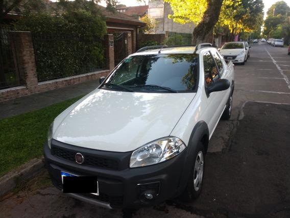 Fiat Strada 1.4 Working Doble Cabina Como Nueva!