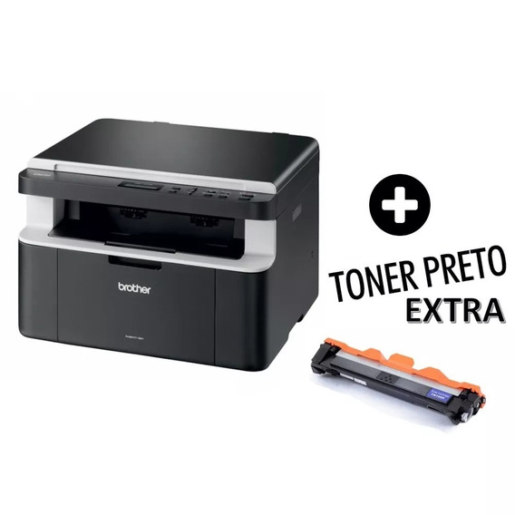 Multifuncional Brother Dcp1617nw C/ Toner Extra+cartucho 664