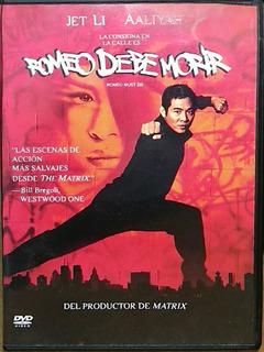 Dvd Romeo Debe Morir Jet Li Aaliyah Región 4