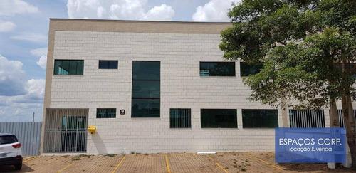 Galpão À Venda, Com Renda, 860m² - Centro Empresarial Castelo Branco - Boituva/sp - Ga0302