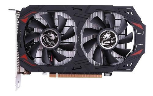 Imagen 1 de 8 de Placa Video Nvidia Colorful Gtx 1050 Ti Ne 4g-v 4gb Full