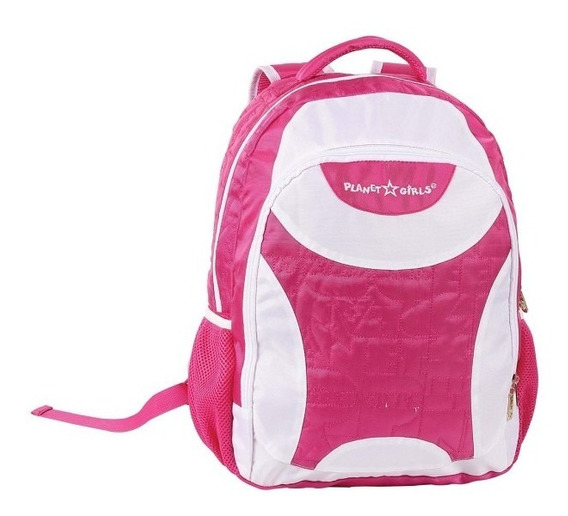 Mochila Escolar Dermiwil Planet Girls 51131 Rosa