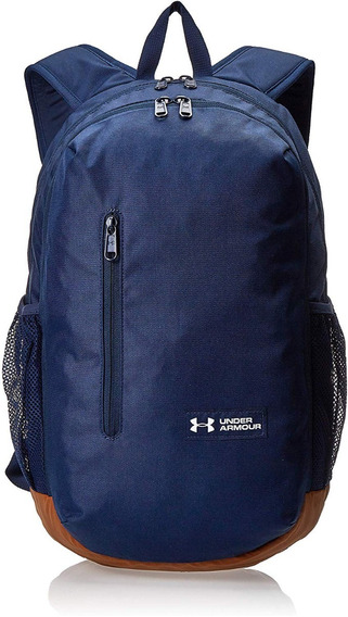 Mochila Backpack Deportivo Under Armour 1327793-408 Azul M/c
