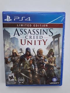 Assassins Creed Unity Juego Ps4 Nuevo Y Sellado