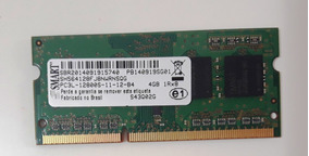 Memoria Smart 4gb Ddr3 Pc3l-p/ Notebook - Nova