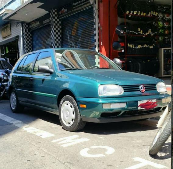 Volkswagen Golf 1.8 Gl Completo Com Ar 1996 14630 Km