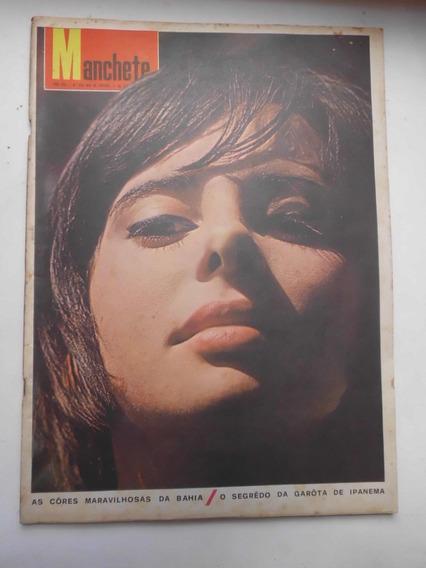 Revista Manchete Nº 699 - Set/1965 - Santos, Pelé, Bahia