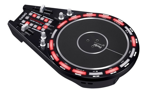 Controlador Dj Xwdj1 Casio 2 Canais C/ Disco Trackformer Usb