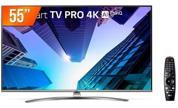 Smart Tv Led 55 4k Lg 55um761c0sb Wi-fi Active Hdr Thinq Ai