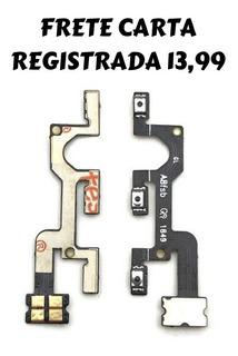 Botão Flex Power Ligar Volume Motorola Moto G7 Play Xt1952