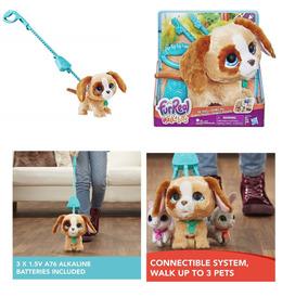 Lançamento Fur Real Friends Cachorro Walkalots Original