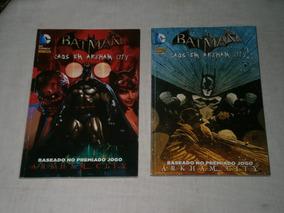 Batman 2 Gibis Caos Em Arkham City E Os Novos 52 Especial