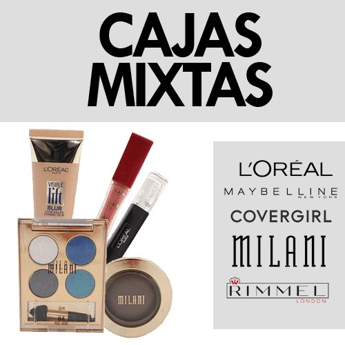 Lote De Maquillaje Originales Maybelline, Covergirl, Loreal